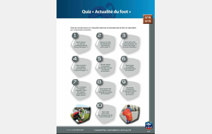 U10-U11:PROGRAMME EDUCATIF FEDERAL - Culture Foot / Actualité du Foot