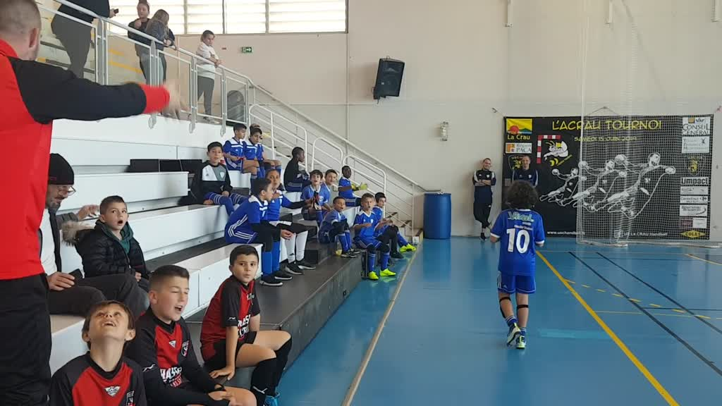 U11: Encouragements pendant la finale